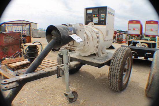 382. 217-691. Blue Star 60 KW 540 PTO Generator on Cart, Tax