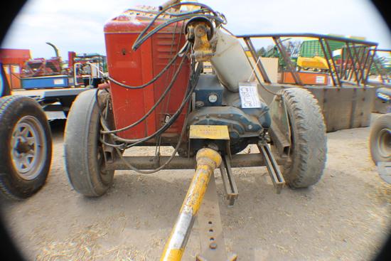 383. 217-692. Winco 27,000 Watt PTO Generator on Cart with Forney 180 Amp W