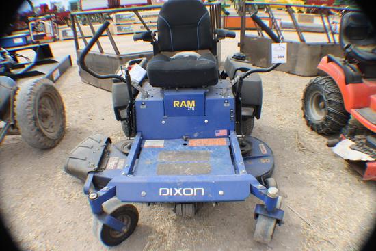 384. 331-724. Dixon Ram STR Mower, 50 Inch Deck, 26 H.P., 545 Hours, Tax