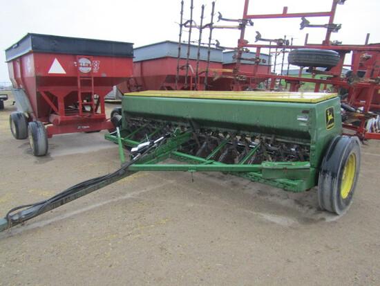 731. 386-995. John Deere 8300 13 FT. Grain Drill, 10 Inch Spacings, T/ST3