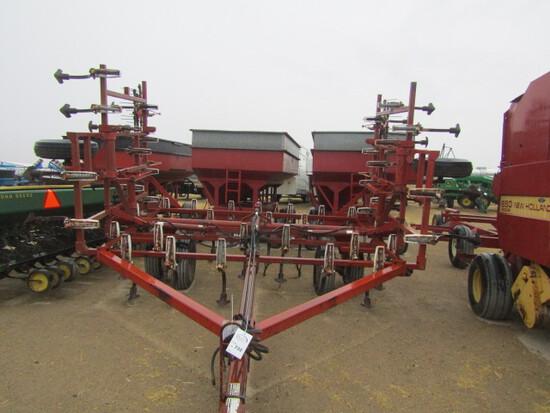 732. 227-628. Wilrich 24 FT. Hyd. Fold Field Cultivator, 4 Bar Harrow, T/ST