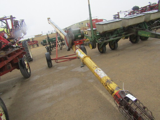 749. 254-657, Westfield 8 Inch X 31 FT. Auger with 5 H.P. Electric Motor, T
