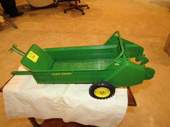 704. 1/8 Scale John Deere Ground Driven Manure Spreader