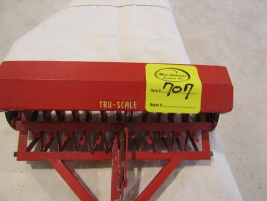 707. Tru-Scale Grain Drill with Grass Seeder