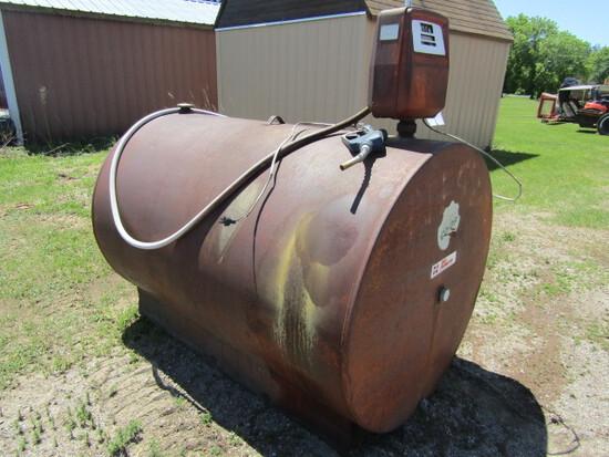 151. 500 Gallon Fuel Barrel with Electric Pump