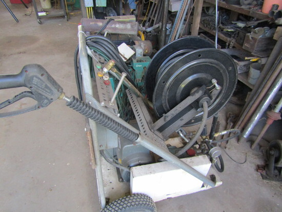 154. Electric Power Washer with Baldor Electric Motor