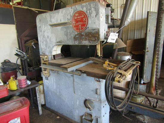 158. Do-All Job Select Power Band Saw with Welding Attachment, 220V, Serial