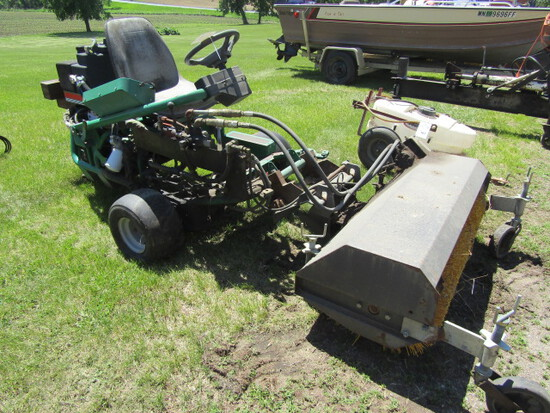 166. Ransomex Commercial Power Unit with 50 Inch Front Mounted Broom (Not R