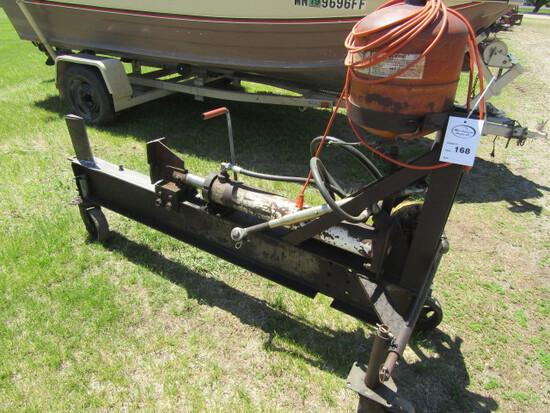168. Shop Build HD Hydraulic Wood Splitter