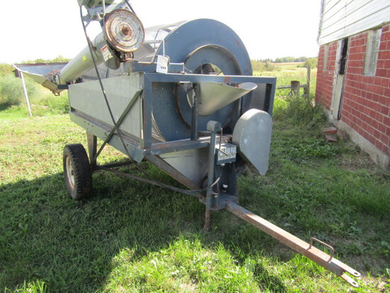 509. Neco High Capacity Portable Grain Cleaner,, (Approx. 450 Bushels Per H