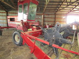 525. IH Model 4000 Self Propelled Windrower, 12 FT. Draper Head with Hume R