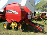 527. 2007 New Holland Model BR740-A Twine Tie Round Baler, Monitor, 540 PTO