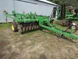534. John Deere Model 714 12 FT. 9 Shank Soil Management Systems Disc Chise