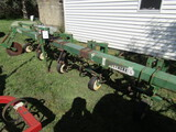 540. Wetherell 4 Row Wide Danish Tooth 3 Point Cultivator, Guide Coulter