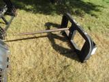 544. HD Skid Loader Mounted Round Bale Spear