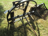 545. King Kutter 3 Point or Loader Mounted Round Bale Spear