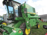 548. Very Clean John Deere Model 4435 Hydrostatic Diesel Combine, Grain Los