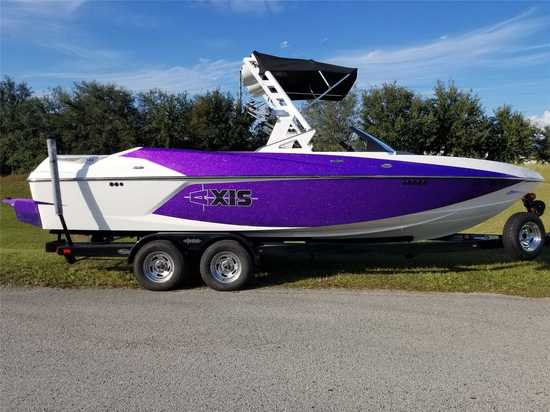 2015 Axis Model: Core Series T23. VIN:AWRG4419L415. Hours: 160. This boat is located in Clermont, FL