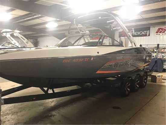 2013 Malibu Model: 24 mxz. VIN: MB2L7282A313. Hours: 350. This boat is located in Walloon Lake, MI.
