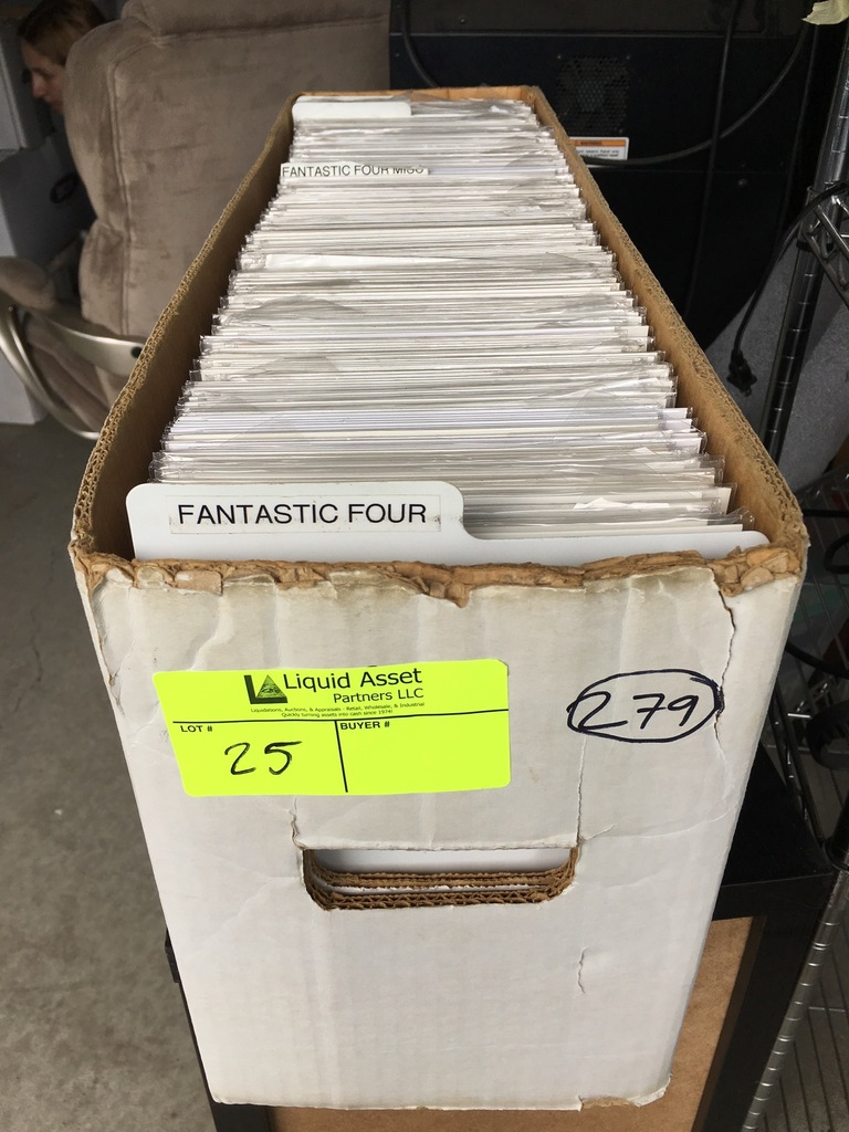 279 New Comic Books, titles to include but not limited to: Fantastic Four, Fatale, FBP