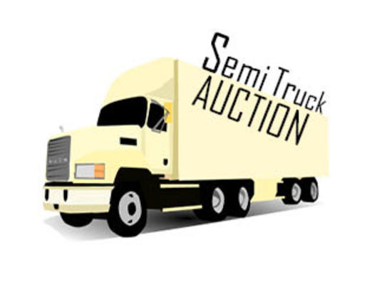 Online Auction of 2017 Semi Trucks