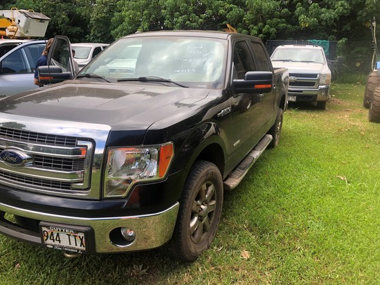 2013 Ford F150 4 x 4