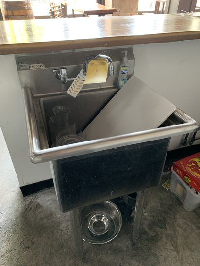 SS Single compartment Sinks