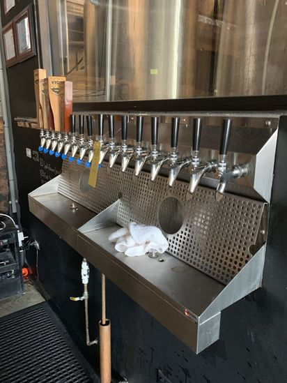 17 Tap Beer Dispensing System