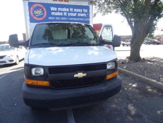 2012 Chevrolet Express Box Truck - 64,050 miles