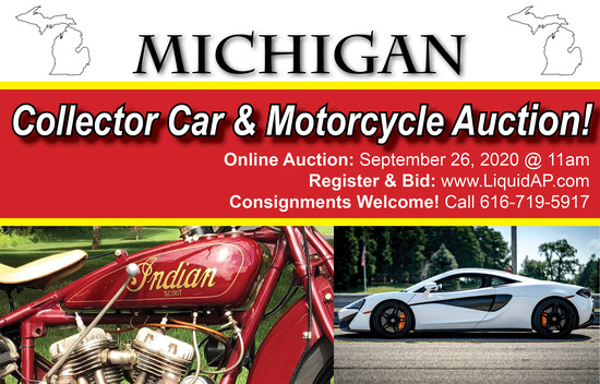 Michigan Collector Car & Motorcycle Auction