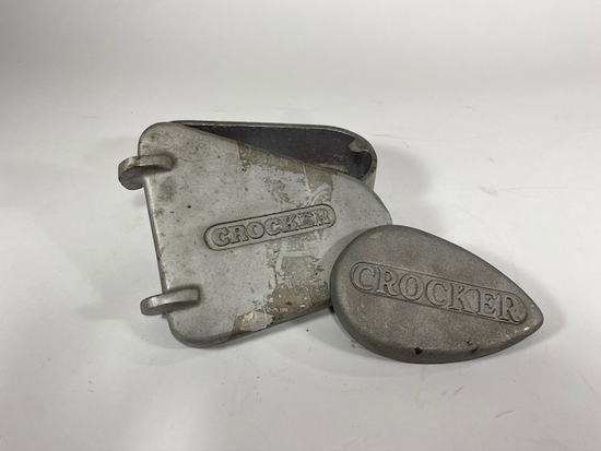 Crocker Motorcycle Tool Box - Extremely Rare