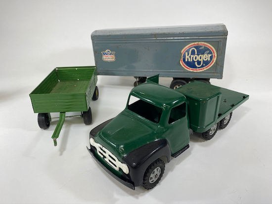 Assorted Toy Trucks