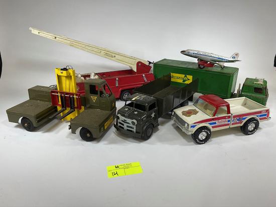 Assorted Vintage Antique Trucks