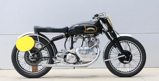 1950 Vincent Comet 'Flash' Replica