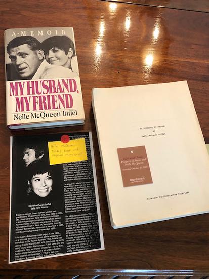 McQueen Manuscript My Husband My Friend - The original manuscript was written by Neile MCQueen as a