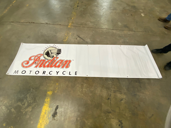 Large Indian Banner Canvas