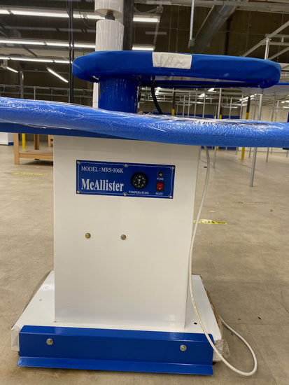 Vacuum Table McAllister UP106D