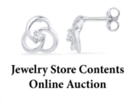 Jewelry Store Contents Online Auction