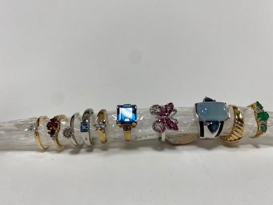 Women's Rings, sizes vary. Estimated Retail Value of $2,025.00