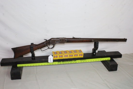 Winchester Model 1873 .32-20 Lever Action Rifle w/Ammo.
