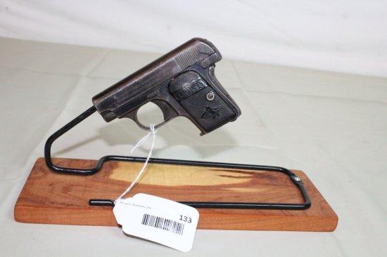 Colt 1908 Hammerless Pocket Pistol in .25 Cal.