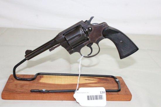 """Colt """"Police Positive Special"""" .38 Special 6-Shot DA Revolver."""