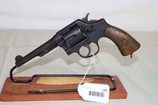 "Smith & Wesson ""Victory"" .38 S&W 6-Shot Revolver."