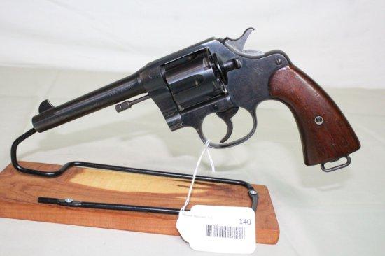 Colt D.A. .45 U.S. Army Model 1917 6-Shot Revolver.
