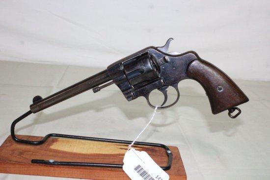 Colt D.A. .38 U.S. Army Model 1901 6-Shot Revolver.