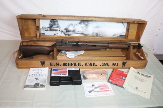 Springfield Armory U.S. Rifle Cal. 30 M1 Garand Commemorative.