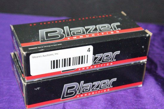 100 Rounds of Blazer 9mm Luger 115 Gr. Ammo.