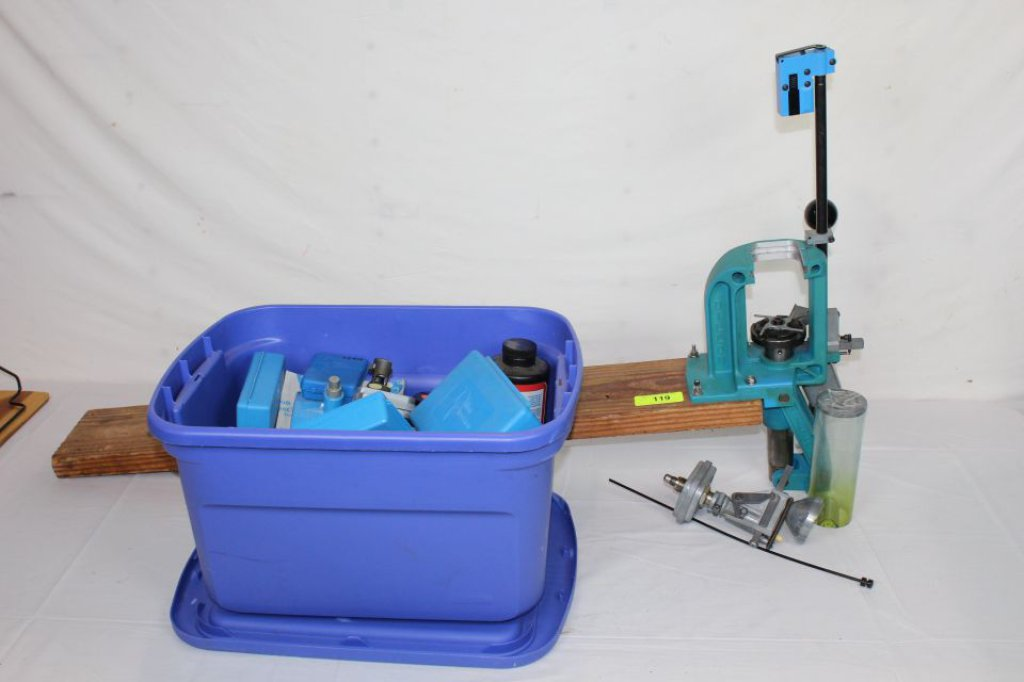 Lot: Dillon Reloading Press and Accessories  | Proxibid Auctions