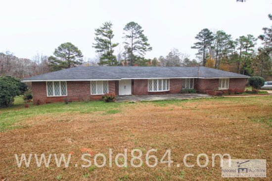 Brick home with three acres of property - 105 Lois Drive, Anderson, SC