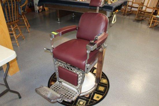 Emil J. Paidar Company Barber Shop Chair. Like New!